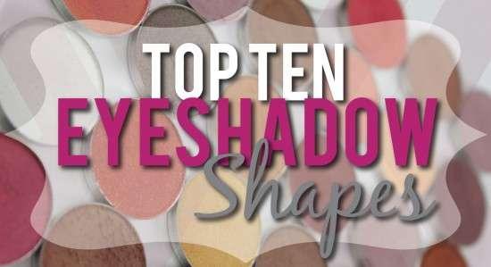Eyeshadow shapes